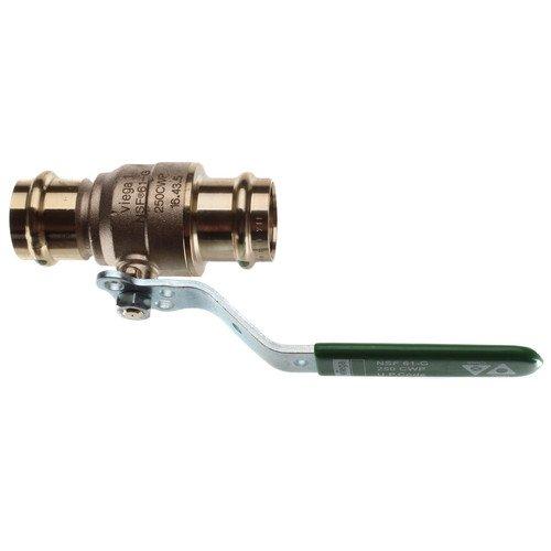 Zero Lead Bronze Press x Press Ball Valve, Locking Lever, 1'' Pipe Size by VIEGA PROPRESS (Image #2)