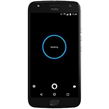 Moto X (4th Generation) - with hands-free Amazon Alexa – 32 GB - Unlocked – Super Black - Prime Exclusive - with Lockscreen Offers & Ads
