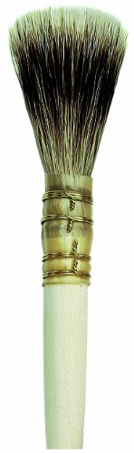 da Vinci Varnish & Priming Series 92 Blender Round Brush, Pure Badger Hair with Plainwood Handle, Size (Badger Blender)