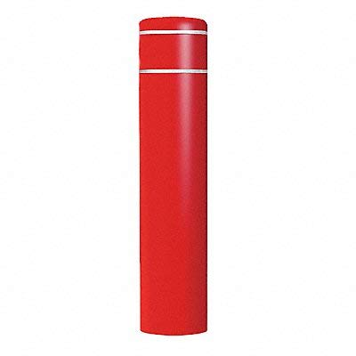 Encore Commercial/Post Guard - 4502RW - 60H High Density Polyethylene Bollard Cover For Post Size with 12-7/8 dia, Red