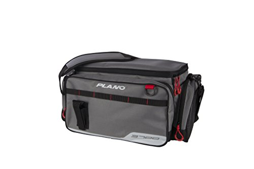 - Plano PLAB37110 3700 Size Tackle Case, Grey, Premium Tackle Storage