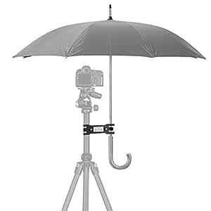 Outdoor Camera Tripod Umbrella Holder Clip Clamp Bracket Stand Photography Accessory for Camera
