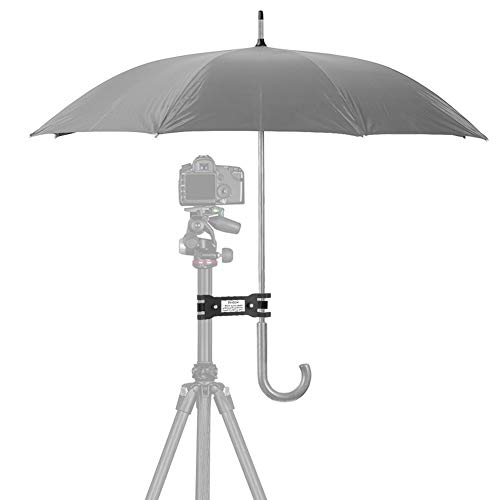 Outdoor Camera Tripod Umbrella Holder Clip Bracket Stand Clamp Photography Accessory