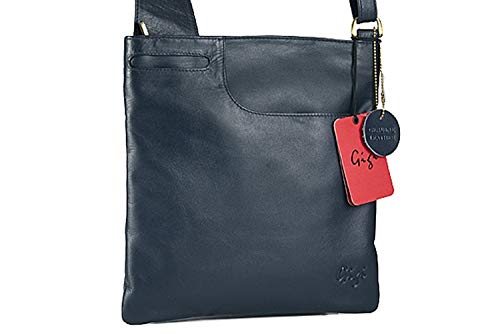 Bag Leather Gigi Dark body Othello Cross Blue 2057 qwxW6TRZF