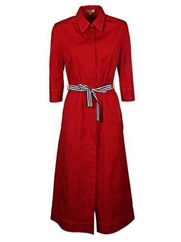 Rojo Fay N8we336549s0fkr003 Mujer Vestido Algodon xOP4pXq
