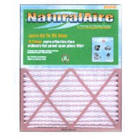 8 Naturalaire Standard Pleated Media Home Furnace Air Filter, Box of 12 Filters ()