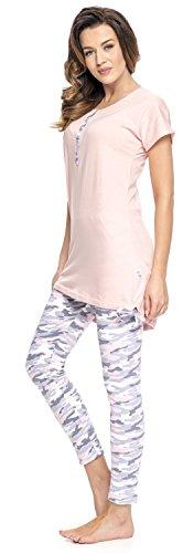 Set nightwear Rosa Donna Coordinato dn 5qaOx7w7