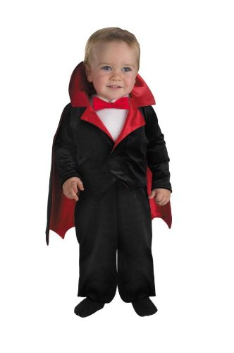 [Little Vampire Infant Costume] (Toddler Vampire Halloween Costumes)