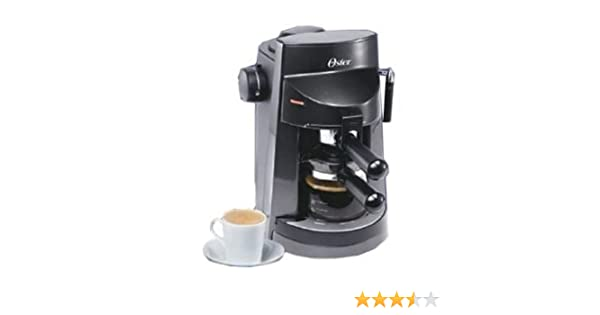 Amazon.com: Oster 3188 4 Cup Espresso Coffee Capuccino Maker 220 Volt (Not for Use in USA or Canada): Steam Espresso Machines: Kitchen & Dining