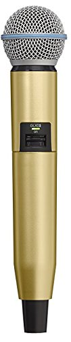 Shure WA723-GLD Colored Handle Only for GLXD2/SM58 and GLXD2/BETA58A Wireless Transmitters (Gold)