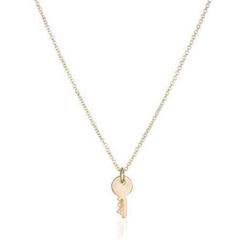 - Designer Inspired Gold Minimalist Choker Necklace Pendant 16