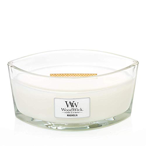 WoodWick Ellipse Scented Candle, Magnolia
