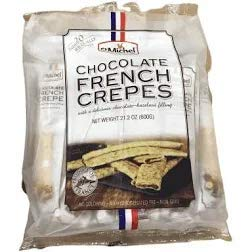 Chocolate French Crepes (Le Chef Patissier Grande Galette French Butter Cookies)