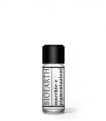 BIOEARTH - Anti-Pigmentation Face Serum - Intensive Treatment Uniforming Action - AIAB and Vegan Certified - Nickel Tested - 5 ml