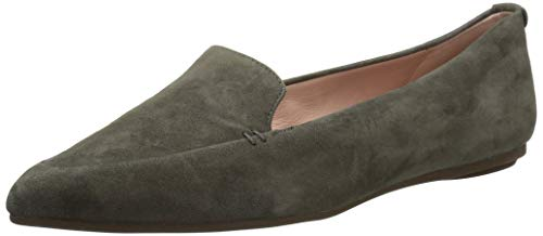 Taryn Rose Women's Faye Loafer Flat, Spruce, 6 M Medium US ()