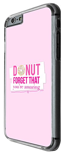968 - cool cute love quote donut forget amazing words poem pink fashion Design For iphone 5C Fashion Trend CASE Back COVER Plastic&Thin Metal -Clear