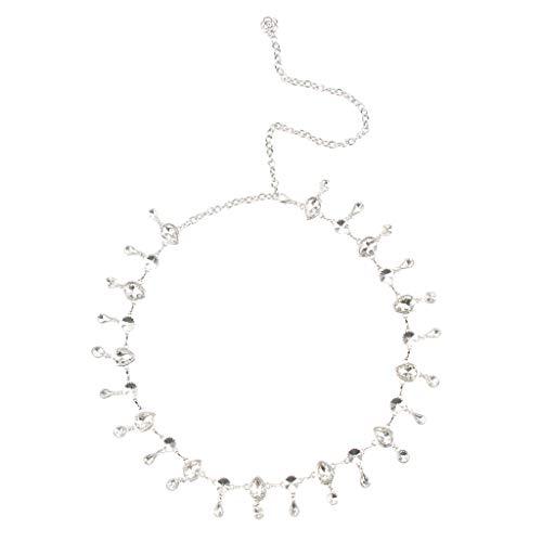 Femmes Magideal Robe De Dames Cadeaux Accessoires De Bijoux En Cristal Partie De La Ceinture De La Chaîne De Taille
