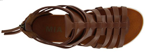 MIA Women's Elsie Gladiator Sandal Cognac original for sale 0iRLM