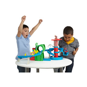 Racing and Action-Figure Play