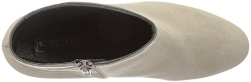 Peter Kaiser Carmina - botas de caña baja con forro cálido y botines Mujer Beige (TAUPE SUEDE CRAKLE 310)