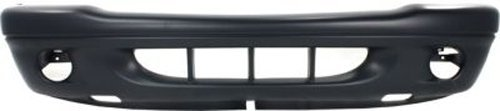 Crash Parts Plus Primed Front Bumper Cover Replacement for 2001-2004 Dodge Dakota, - Cover Front Dodge