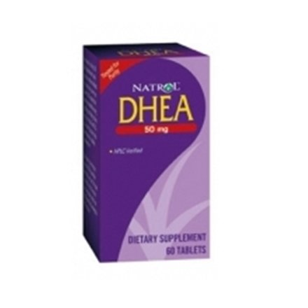 Natrol DHEA 50 mg Tablets 60 Tablets (Pack of 8)