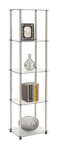 Buy tower display case with light