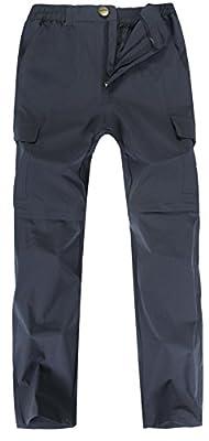 Singbring Men's Outdoor Lightweight Hiking Convertible Cargo Pants