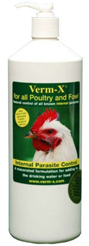 Verm-X Liquid Poultry and Fowl Internal Parasite 500Ml, My Pet Supplies
