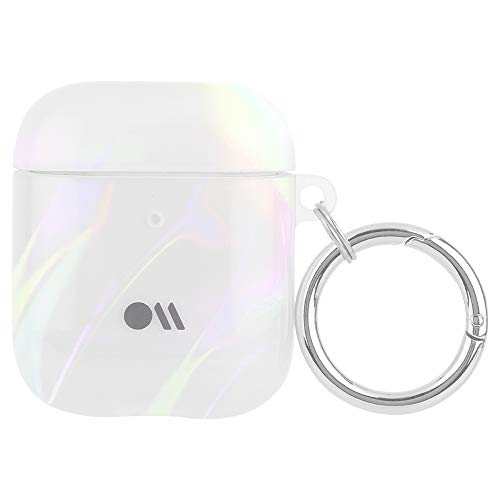Case-Mate - AirPods 1&2 Case with Antimicrobial Protection - SOAP Bubble - Iridescent w/Micropel