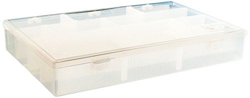 ArtBin IDS Box with 8-Divider - Translucent Clear, 900IDS ()