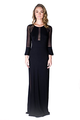 virgin-only-womens-easy-fitted-maxi-dress-jet-black-medium