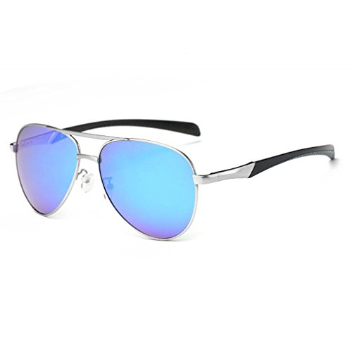 sol gafas Mg hombres lentes de polarizadas cuadros Visual HD UV400 Protección conducción las de Al Coolsir de TAC de 1 1nW8v8