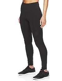Reebok Women's High Rise Leggings Performance Compression Pants