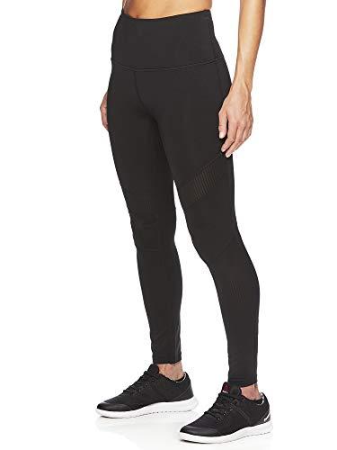 (Reebok Women's High Rise Leggings Performance Compression Pants)