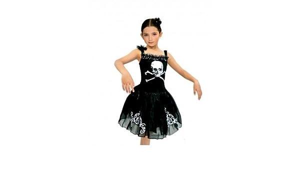 Partilandia Disfraz Black Ballerina para niña(4-6 años): Amazon.es ...