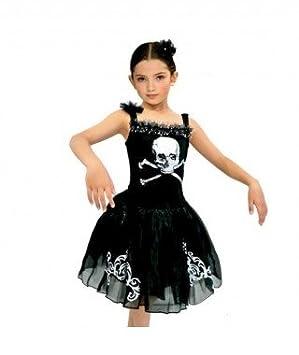 Partilandia Disfraz Black Ballerina para niña(2-4 años): Amazon.es ...