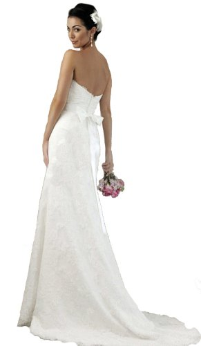 Faironly Lace Modified A-line Bridal Gown Wedding Dress