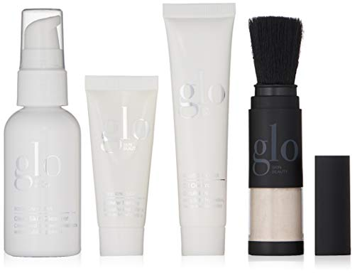 Glo Skin Beauty 4 Piece Travel Skincare Set for Treating Acne and Blemishes , Skin Care for Breakouts , Clear Skin from Glo Skin Beauty