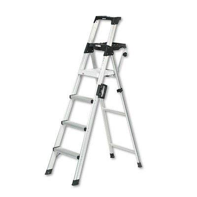 Cosco 20-61AABL Signature Series Premium Aluminum Type T1A Step Ladder, 6-Foot (1 Unit)