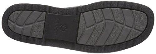 Ganter ERIC, Weite I - zapatos con cordones de cuero hombre negro - Schwarz (schwarz 0100)