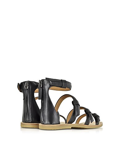 Marc By Marc Jacobs Mujer M9000069001 Negro Cuero Sandalias