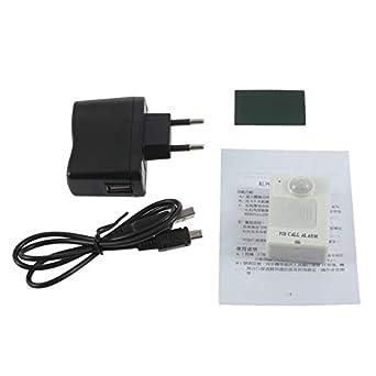 Mini PIR Sensor de alerta Infrarrojo GSM Inalámbrico Monitor de alarma Detección de movimiento Venta caliente