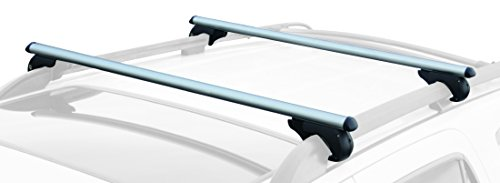 (CargoLoc 32542 Aluminum Rooftop Cross Bars, 60