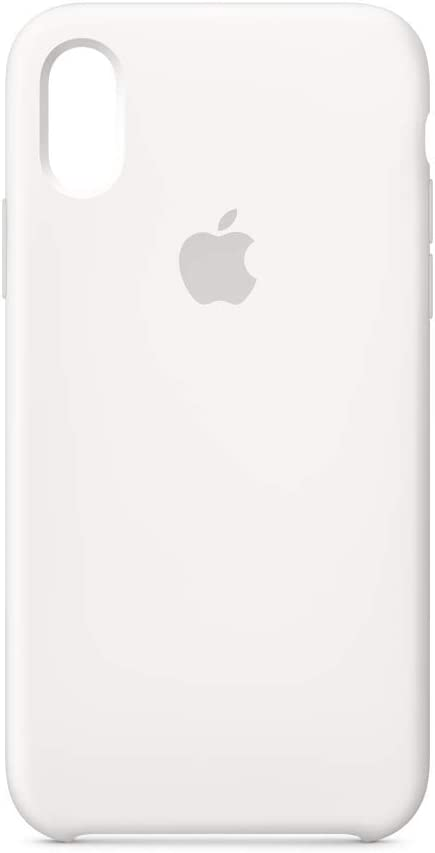 Apple Silicone Case (for iPhone Xs) - White