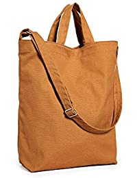 Duck Bag Canvas Tote, Essential Everyday Tote, Spacious and Roomy, Nutmeg