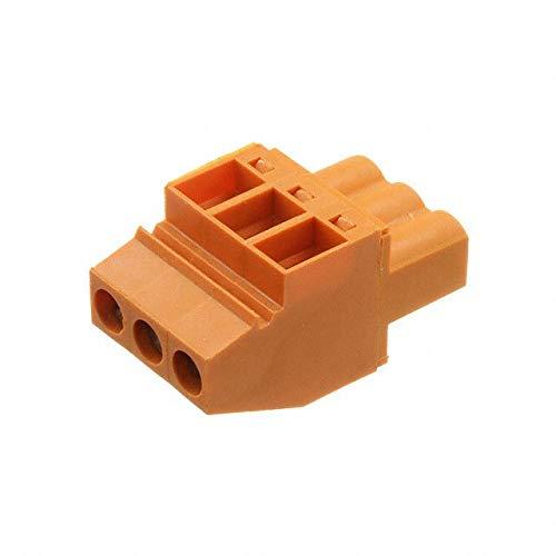 TERM BLOCK PLUG 3POS 5.08MM (Pack of 10)