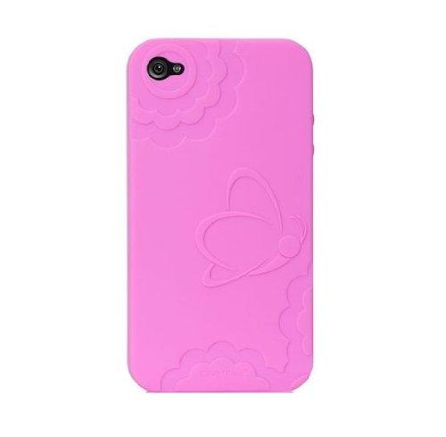Case-Mate BT-COV-CM011822 Dulce Silikon Case für Apple iPhone 4/4S pink