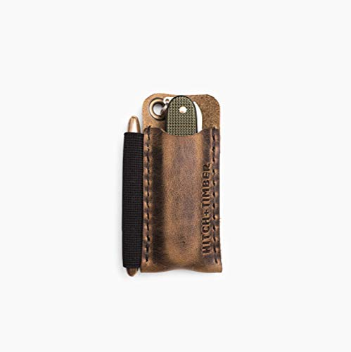 The Pocket Runt - Leather EDC Slip for Everyday ()