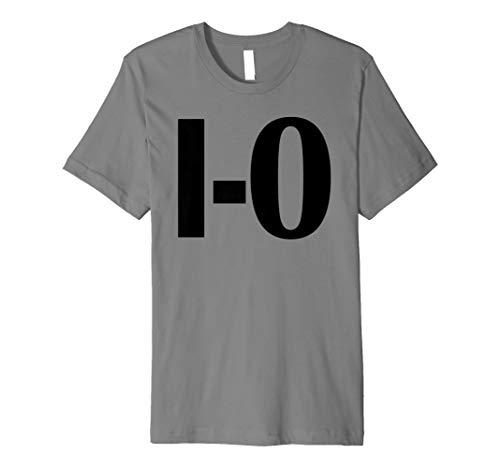I-O Couples Matching Ohio Sports Football Funny Fun T-shirt -